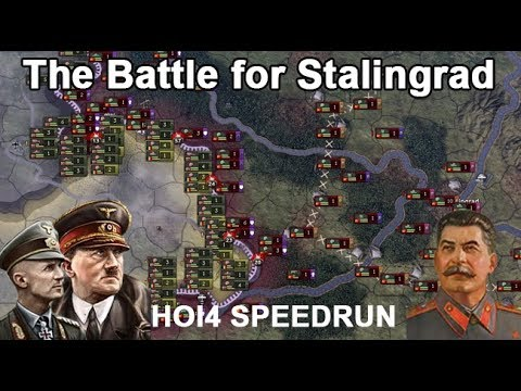 USSR DEFENDS Stalingrad and CAPTURES Berlin!!! (Hearts of Iron IV Speedrun)