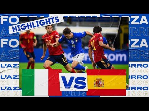 Highlights: Italia-Spagna 1-2 (6 ottobre 2021)