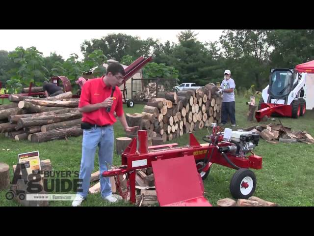 Watch The Split-Fire, Log Splitter Demonstration