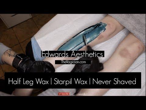Edwards Aesthetics  Half Leg Wax