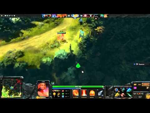 видео: dota 2 паб: dragon knight + lina хорошая команда! [Русский гейплей]