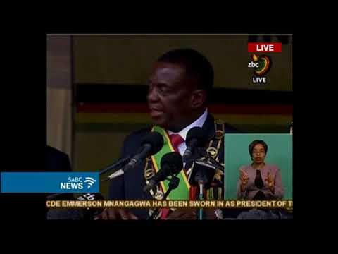 Download Youtube: President Emmerson Mnangagwa inauguration speech