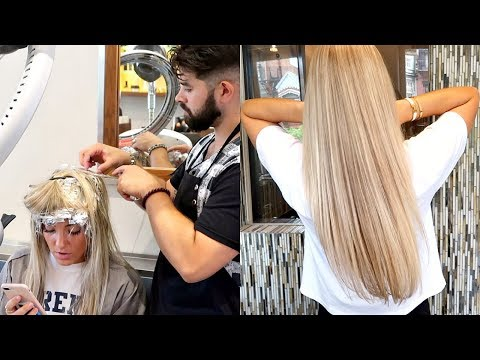 GET MY HAIR DONE WITH ME | SALON ACOTE BOSTON