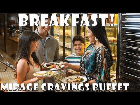 Mirage Cravings Breakfast Buffet