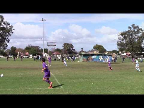 Round 17 WA NPL U14 Perth SC vs Perth Glory  7 Aug 2016
