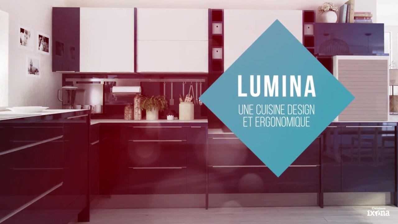 [Gamme] LUMINA - la cuisine aménagée moderne et ergonomique