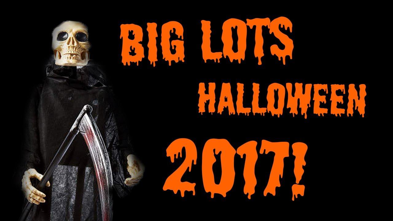 Big Lots Halloween 2017! - YouTube