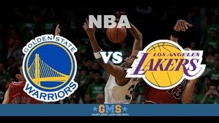 NBA Live: Golden State Warriors vs Los Angeles Lakers Live Stream 01/21/2019
