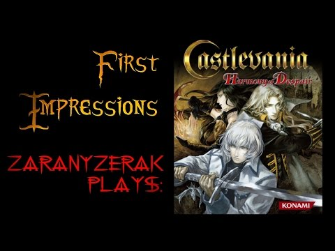 First Impressions - Castlevania: Harmony of Despair