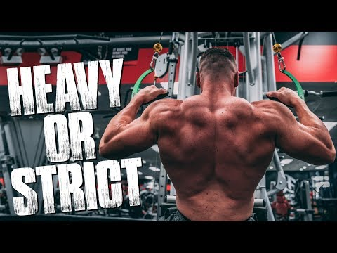 Back Training Heavy Weight or Strict Form? | Tiger Fitness