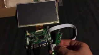 Problem on Raspberry Pi 7 inch HDMI HD 1024 * 600 Touch Screen