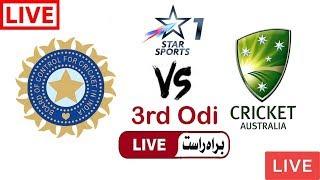 Star Sports 1 Live Cricket Match Today Online India vs Australia 3rd Odi 2019