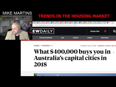 Trends In The Housing Market -  USA - CAN- NZL - AUS - UK