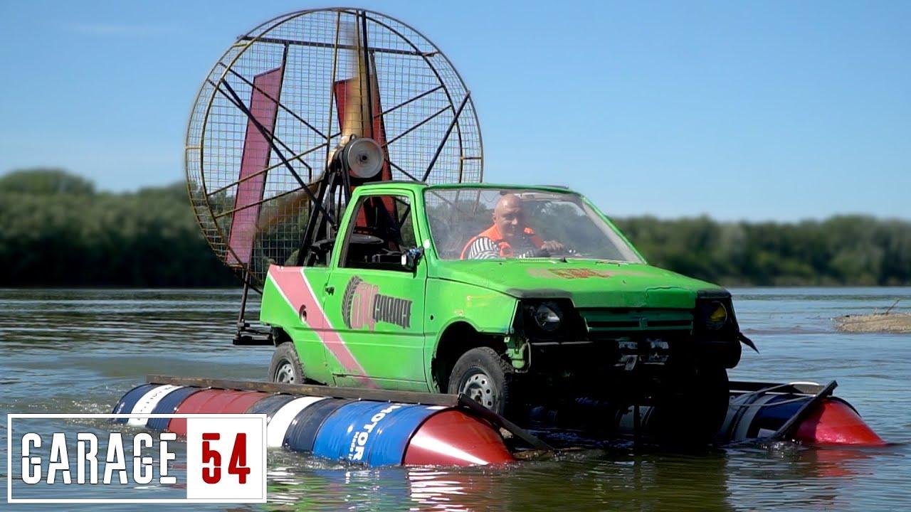 Лудите руснаци къртят отново! Сега са направили кола, която да плува... да видим как ще се представи