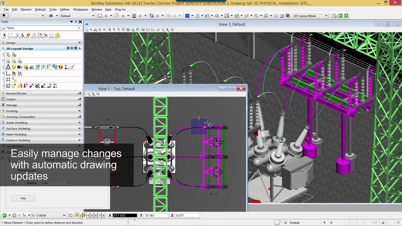 Bentley Substation Design Software Youtube