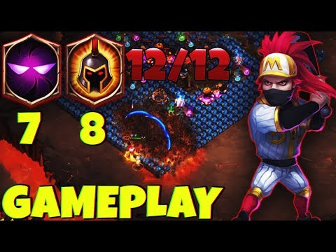 CRAZY* RONIN 12/12 | 8 WG | 7 Unholy Pact | GAMEPLAY | CASTLE CLASH