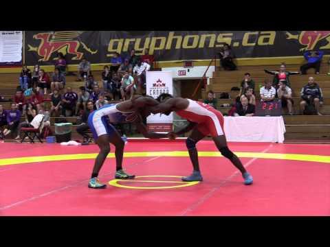 2015 World Team Trials: 70 kg Final CJ Hudson vs. Cruiz Manning