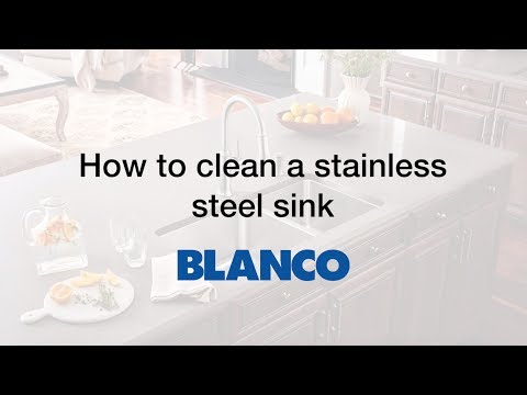 How-to Clean a Stainless Steel Kitchen Sink