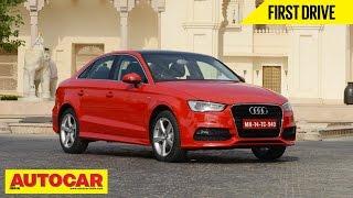 2014 Audi A3 Sedan 35TDI Diesel | First Drive Video Review | Autocar India