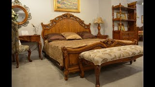 Видео обзор: Кровать классическая Феникс С, массив дерева