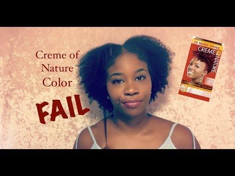 Creme of Nature Color FAIL | Natural Hair
