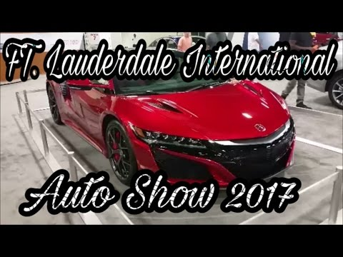 International Auto Show Fort Lauderdale YouTube - Fort lauderdale car show