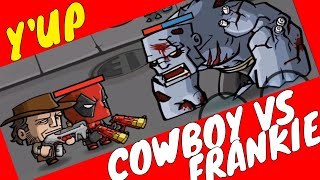 COWBOY VS FRANKENSTEIN #zombiesurvival #gameplay ZOMBIE AGE 3 by Youngandrunnnerup part 1120