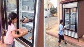 Saudi Arabian man Installs fridge Outside Home for Homeless | America 2.0