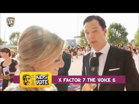 Benedict Cumberbatch and Andrew Scott - BAFTA 2012 Kids