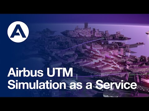 Airspace simulation for UTM