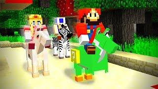 МАРИО ОСТАВИЛ ВСЕХ ПОЗАДИ, СКОРОСТИ ЕМУ НЕ ЗАНИМАТЬ - Minecraft Mario Party