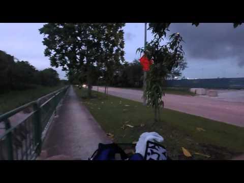 Biking from Sengkang E Dr to Seletar Airport via Serangoon Island 4  | Garmin VIRB XE