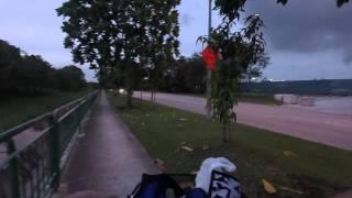 Biking from Sengkang E Dr to Seletar Airport via Serangoon Island 4    Garmin VIRB XE