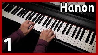 ♪ Hanon ♪ Exercise 1 [60 - 108 bpm]