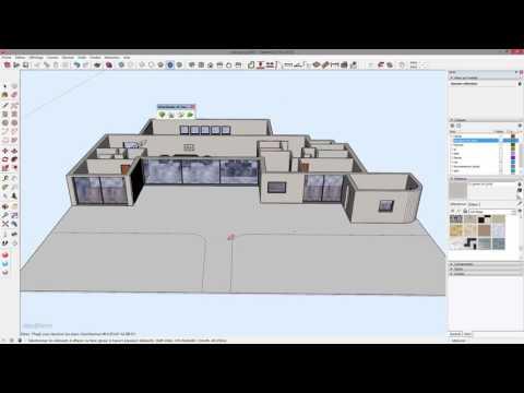 Tuto Créer Une Maison 3d Complexe à Partir De Son Plan En 20