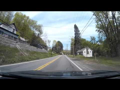 A Drive on Route 92 Exeter Township (Harding) Pennsylvania