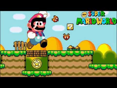 New Super Mario World: Walking The Donut Plains (SMW NSMB Mashup)