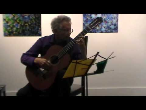 Classical Guitar Recital on March 11th, 2016 by Lawrence Rich