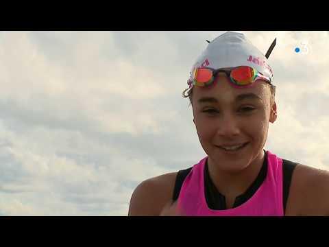 Agde (34) : Lili Pereira, double médaille de bronze en sauvetage sportif