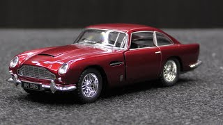 72. 1963 Aston Martin DB5 - Kinsmart 1/38