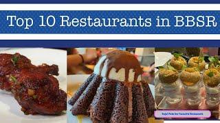 Top 10 Restaurants In Bhubaneswar👍😋 Best Places To Eat In BBSR My Picks 😊