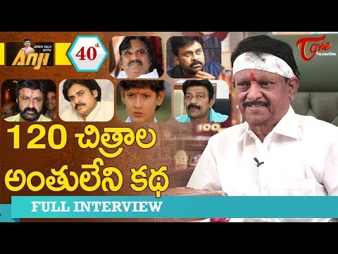 Kodi Ramakrishna Exclusive Interview | Open Talk with Anji #40 | Telugu Interviews - TeluguOne