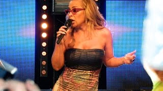 Anastacia - Left Outside Alone (remix) - LIVE at Manchester Pride 2014