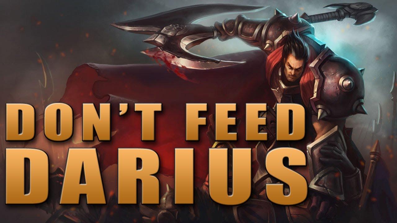 Don't Feed Darius - Champion Spotlight Alternative - YouTube