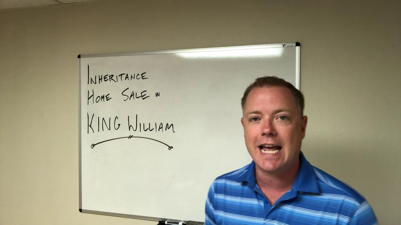 Inheritance Home Sale in King William 210-899-5020