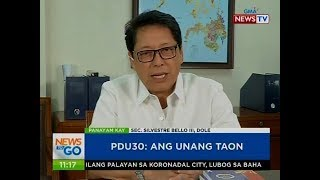 NTG: Panayam kay Sec. Silvestre Bello III, DOLE