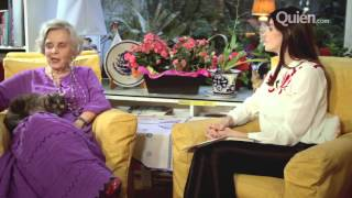Elena Poniatowska se divierte en entrevista con Irene Azuela