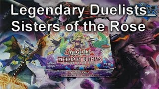 YuGiOh LEGENDARY DUELISTS: SISTERS OF THE ROSE Display Opening (4K)