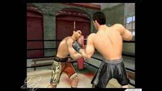 Knockout Kings 2003 GameCube Gameplay - Marciano is
