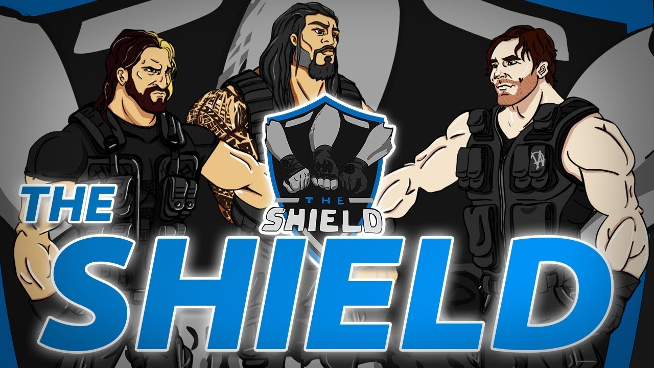wwe the shield 2017 art youtube. Black Bedroom Furniture Sets. Home Design Ideas